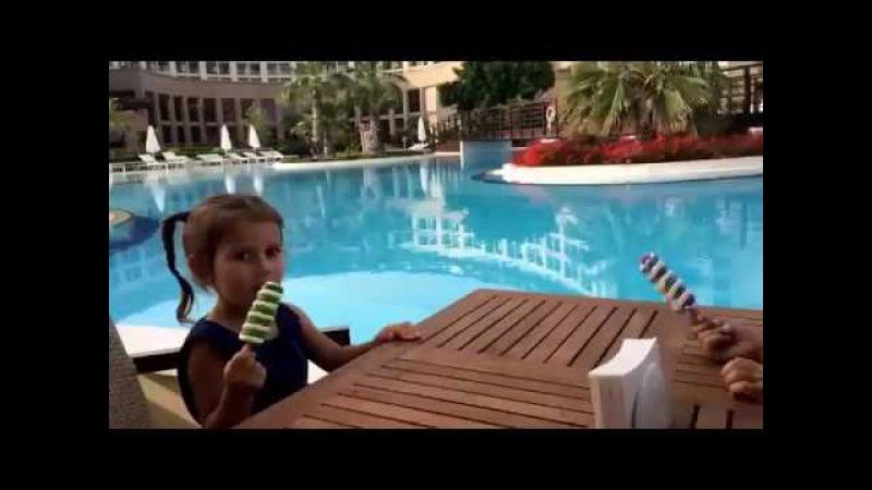 Kaya Palazzo Golf Rezort май 2016 Выходные в отеле часть 2