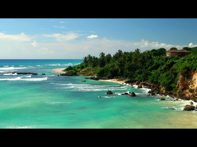 Tropical Ocean HD 1080p Video with Beach Sounds 4 Hour Long