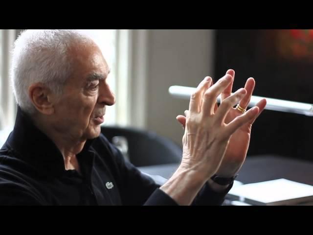Debbie Millman interviews Massimo Vignelli directed by Hillman Curtis