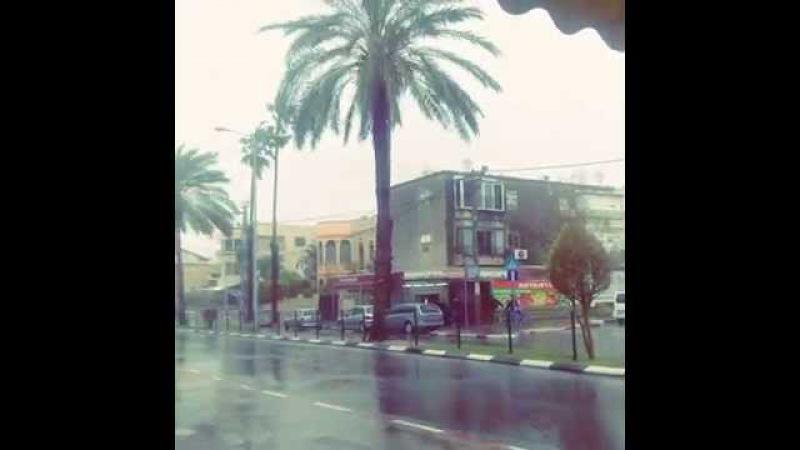 Acre Israel Rain
