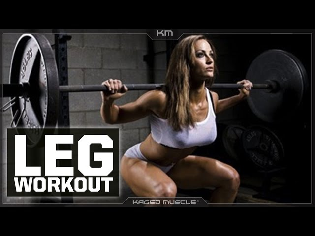 The Leg Workout For Everybody with Erin Stern and Kris Gethin