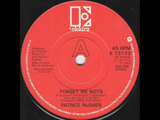 Patrice Rushen Forget Me Nots 7 Version