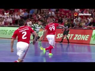 Liga SportZone   Jornada 23   16/17   SL Benfica 1-1 Sporting CP