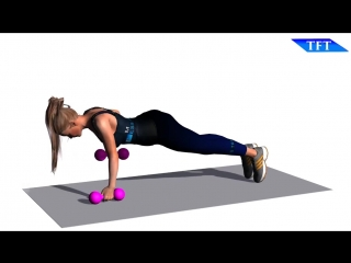 Extreme fat burning dumbbell workout  do 15 minutes