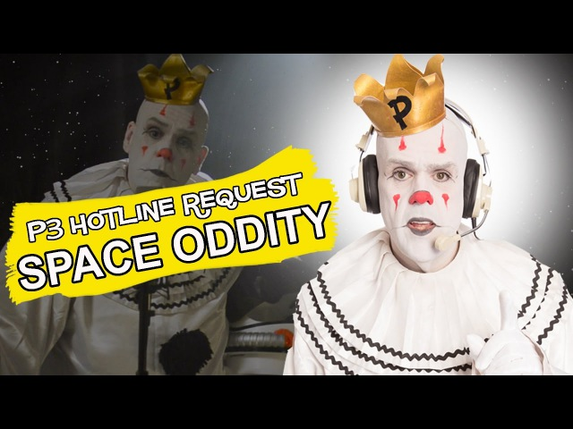 Puddles Pity Party SPACE ODDITY David Bowie cover