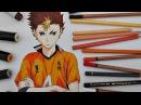 Drawing Yuu Nishinoya    Haikyuu!! ハイキュー!!