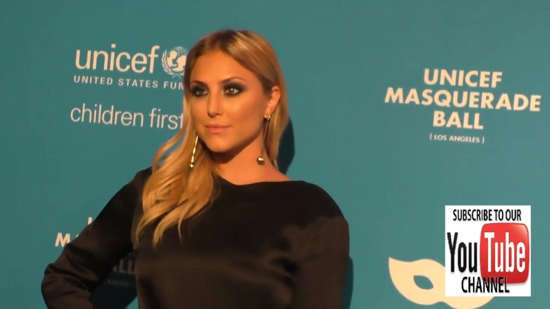 Cassie Scerbo at the 4th Annual UNICEF Masquerade Ball at Cliftons Cafe in Los Angeles
