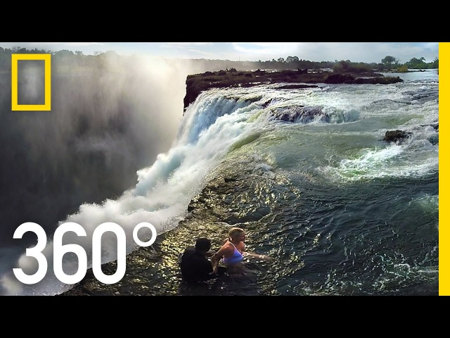 360° Victoria Falls The Devil's Pool National Geographic