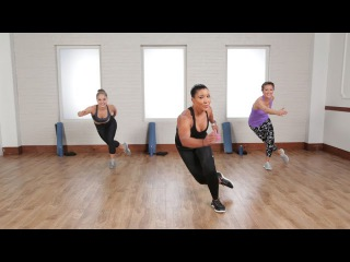Jeanette Jenkins - Burn 500 Calories in 45 Minutes | Джанет Дженкинс - Кардио-тренировка без инвентаря на 500 калорий