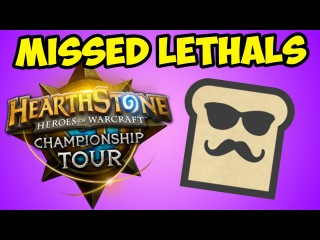 Hearthstone Missed Lethals #10 - WORLD CHAMPIONSHIPS
