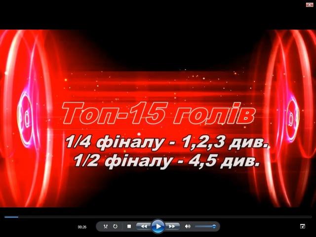 Топ -15 голів Преміум-ліги - 1/4 фіналу (20-21.02.2016)