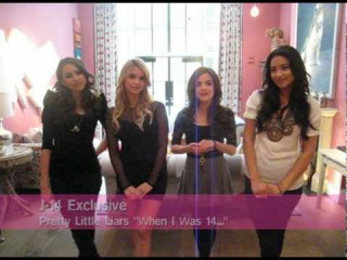 "J-14 Exclusive: Pretty Little Liars ""When I Was 14..."""