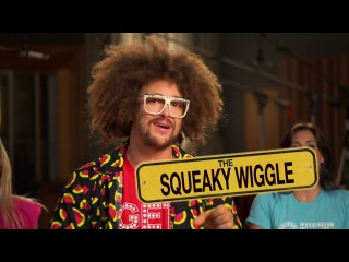 Alvin and The Chipmunks: The Road Chip - Squeaky Wiggle Get Juicy with Redfoo - 2 December 2015