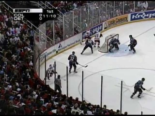 NHL 1996/1997, Кубок Стэнли, 1/2 финала, Colorado Avalanche vs Detroit Red Wings, Матч №6