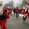 Новогодняя пробежка и Открытие ледового городка