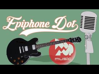 Электрогитара EPIPHONE DOT EBONY CH (Archtop Electric Guitar )