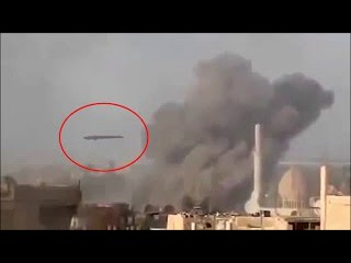 Shocking UFO Video | UFO Attacks And Destroys ISIS Camp in Syria | UFO Sightings 2016