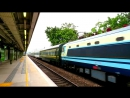 {ICTT} SS8 0186 hauling Z99 Shanghai Through Train passing MTR Fanling Station