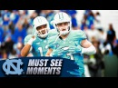 North Carolina's Ryan Switzer's Flea Flicker Catch Goes For 89 Yard TD