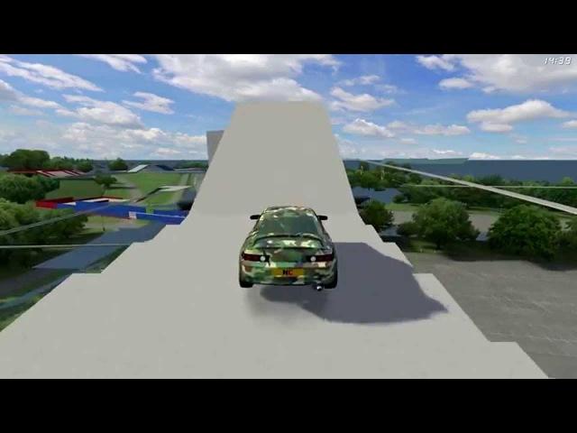 LFS - RB4 Stunt Challenge Skyroad 2