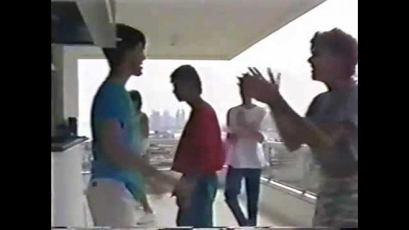 Ricky Martin in Reheasrsal 1987 Menudo