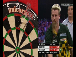 Mensur Suljović vs Simon Whitlock (World Grand Prix 2015 / Round 2)