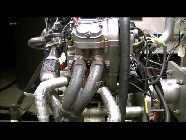 2011 MNSU FSAE KTM 525 Turbo dyno 3 19 11