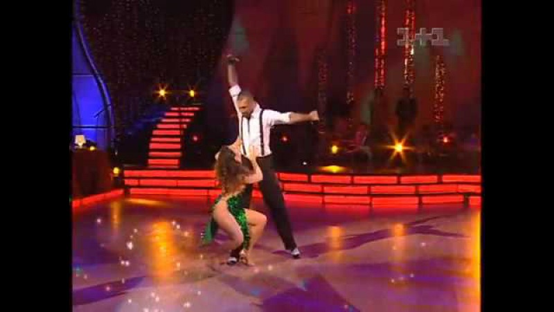 Н.Королева и Е.Папунаишвили Румба Танцы со звездами 3