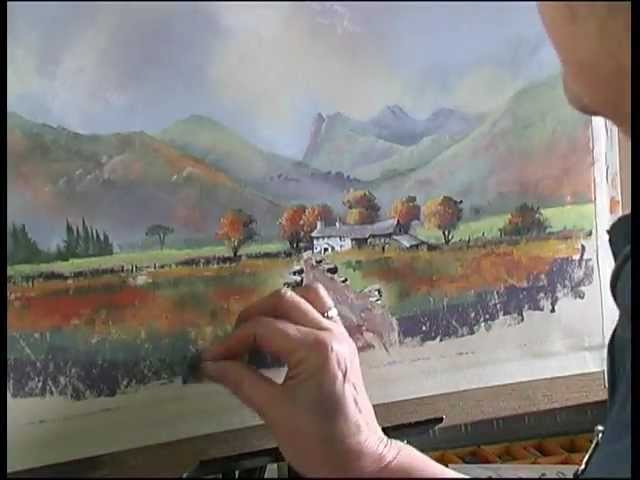 Extract from Painting with Pastels DVD by Jenny Keal