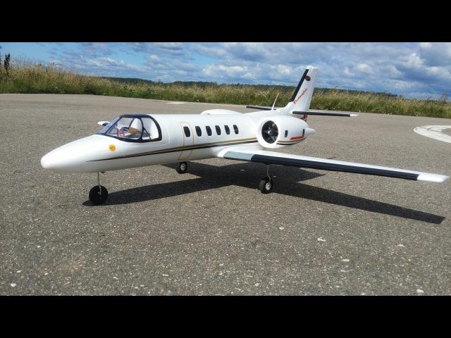 Радиоуправляемый самолет Dynam Cessna 550 Turbojet Полеты