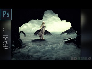 Mother Of Dragons Photo Manipulation — Photoshop Tutorial #1