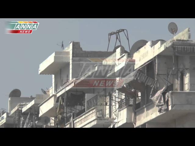Кадры с сирийского фронта Репортаж AnnaNews Жестокая реальность войны и милосердие курдов Сирия Шейх Маскуд 10 03 2015