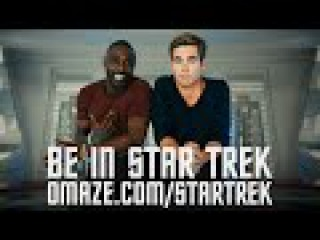 Chris Pine & Idris Elba film a charity