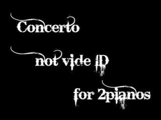 "VII-Sense ""not vide ID"" piano ver."