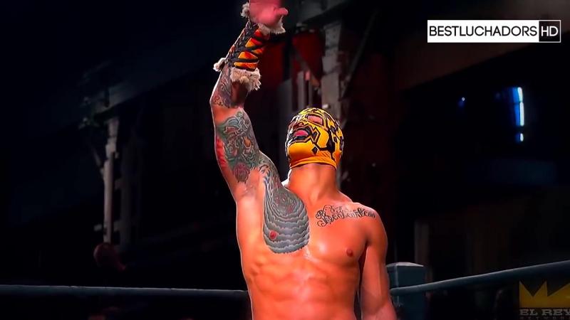WWE-L.U-CMLL-AAA Kalisto, PentagonJr (PentagonDark), PrincePuma, Caristico (Myzteziz, Sin Cara (Mistico)), SexyStar and ReyMyste