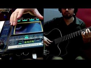 Freestyler Bomfunk MC's - (acoustic guitar cover) / Фристайло, ракамакафо на акустической гитаре!