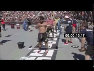 Rich Froning -  2012 CrossFit Games - Men's Final: Elizabeth