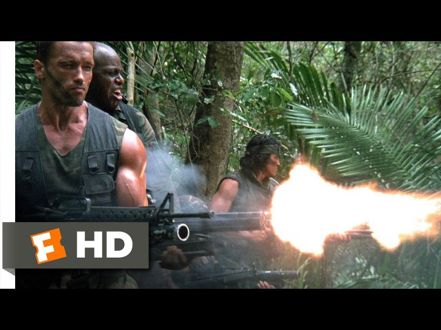 Predator (1987) - Old Painless Is Waiting Scene (15)   Movieclips