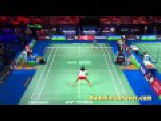 Badminton Highlights - Yonex Denmark Open 2015 - SF WS P.V. Sindhu vs Carolina Marin