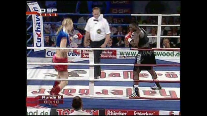 2008-07-11 Natascha Ragosina vs Conjestina Achieng (WIBF GBUF Super Middleweight Titles)