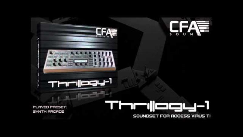CFA Sound Thrillogy 1 Virus TI Soundset