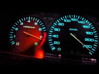 Honda Prelude III Gen H22A +210hp - by Matt (0-100km/h - 230km/h + fun)
