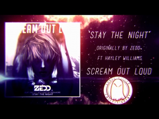 """Scream out loud stay the night (zedd) """"punk goes pop style cover"""""""