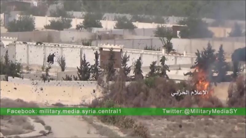 War in GHOUTA Damascus Syria 2016