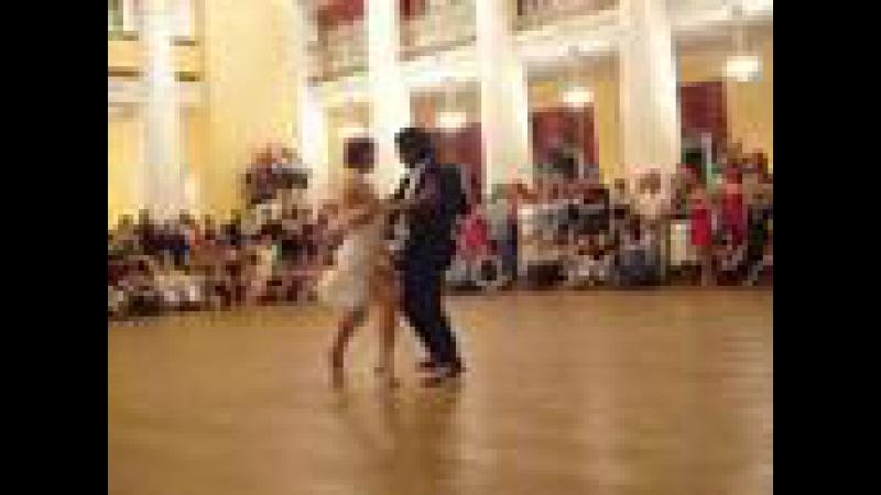Sebastian Arce and Mariana Montes on Milongero Night