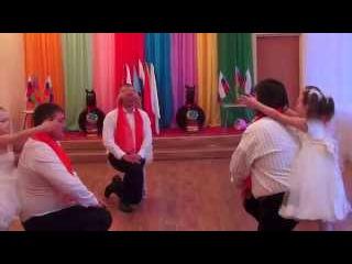 """танец к 23 февраля """"ОТЕЦ И ДОЧЬ"""""""