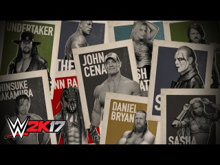 "#My1 See every single Superstar in '""WWE 2K17'"""