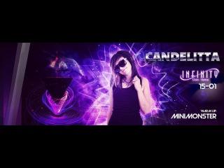 Candelitta - 1 hour live MINIMAL - TECHNO at INFINITY CLUB Varna