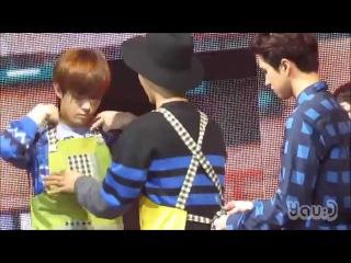 [FANCAM] 150117 VIXX(빅스) N mum Please help meㅠㅠ!! (엔 엄마 & 이홍빈 & 켄) Hong Kong(홍콩) 1st Fan Party кфк