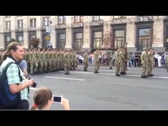Видео Мужчина в откровенном платье, пританцовывая, подпишись (22.08.2016)